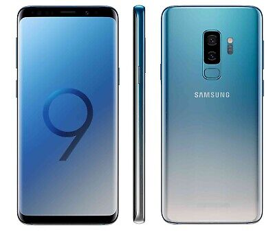 Samsung Galaxy S9+ in Blue Handy Dummy Attrappe - Requisit, Deko, Werbung