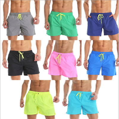 61ff2dcaf89 Mens New Swimming Shorts Quick Dry Trunks Swimwear Beach Summer Boys Royal  Mail