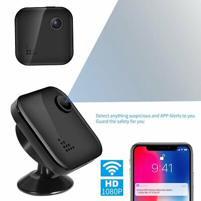 Wireless Spy Camera Hidden Camera with 1080P Ultra Mini & Tiny Nanny Cameras HU