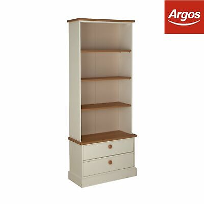 Argos Home Winchester Bookcase and Display Cabinet - White