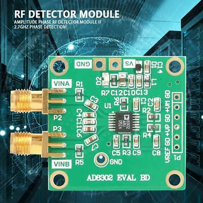 AD8302 Amplitude Phase RF Detector Module IF 2.7GHz Phase Detection HighQ