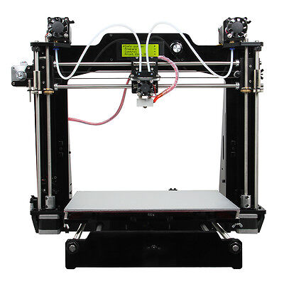 Geeetech 3D Printer Prusa I3 2 in 1 out Extruder M201 Mix Color from DE