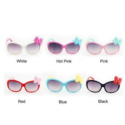 Girls Children Bowknot Sunglasses Toddler Outdoor Anti UV Glasses Shades Goggle