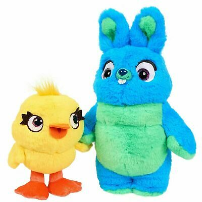 2PC/Set Toy Story 4 Bunny And Duck Cute Soft Plush Stuffed Doll Kids Toys Gift