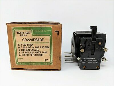 General Electric Cr224D310F 45A 600Vac Nsmp