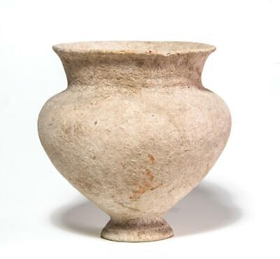 Elegant Holy Land Canaanite period Carinated Jar: Circa 1300 BC.