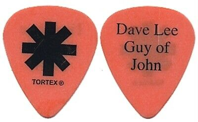 Red Hot Chili Peppers John Frusciante 2003 tour Dave Lee Guy of John Guitar Pick