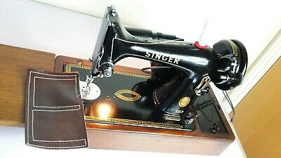 Semi-Industrial Singer 99K Elect Sewing Machine,SERVICED, PAT test,sews Leather