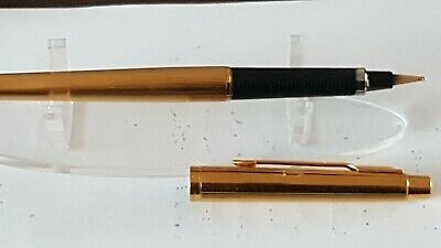 Parker 180 Fountain Pen  - Gold Plated  - Milleraies brilliant clean example. N