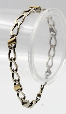 Tiffany & Co 18K Yellow Gold And Sterling Silver Bracelet #769B-2