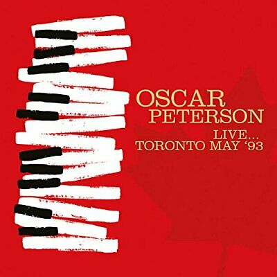 Oscar Peterson - Live... Toronto May '93 (2016)  CD  NEW/SEALED  SPEEDYPOST