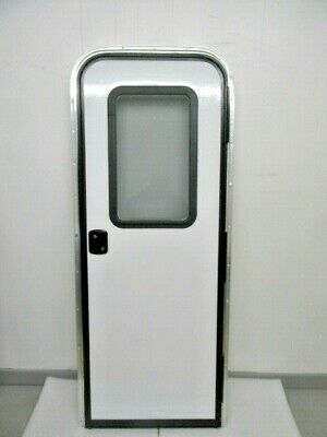 LCI PLASTIC SCREEN Door Slide Black Rv Camper Motorhome