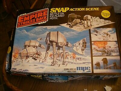 Star Wars Empire Strikes Back Snap Action Battle On Ice Planet Hoth Mpc 1981