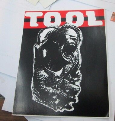 Tool Sticker Collectible Rare Vintage 90'S Metal Live Decal Maynard