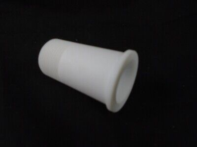 """ACE Glass PTFE 3/4"""" NPT Thread to 24/40 Outer Joint Insert Adapter Bushing 12866"""