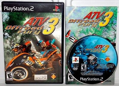 ATV 3: OFFROAD Fury (SONY PlayStation 2 Racing Video Game