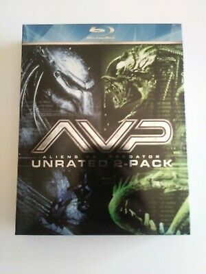 Alien vs. Predator/Alien vs. Predator: Requiem (Blu-ray Disc, 2009, 2-Disc Set,…