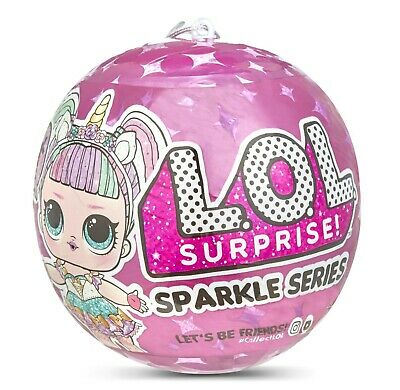 Lol Surprise Dolls ~~~ Sparkle ~~~~~ 1 Doll / Ball -  On Hand Fast Post