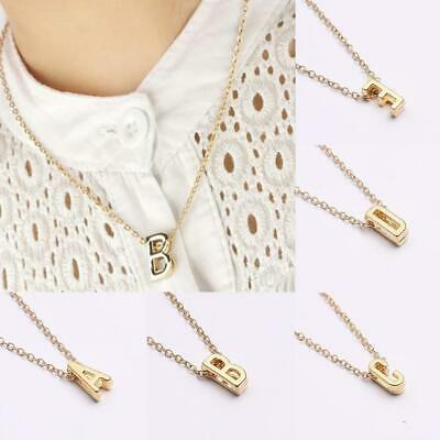 Fashion Alloy Women DIY Gold Plating 26 Letters Party Gift Pendant EA77 01