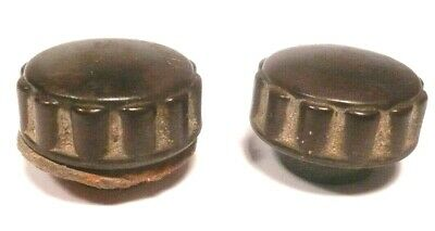 vintage ZENITH 5A03 ch / 56504 PORTABLE BATTERY RADIO part:  SET OF 2 KNOBS