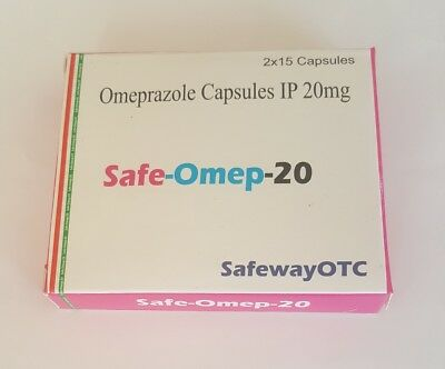 60 Prilosec OTC Capsules - 20mg generic Omeprazole - MFG Direct - FINAL SALE!