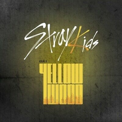 US SHIPPING Stray Kids Cle 2:Yellow Wood Limited CD+Poster+etc