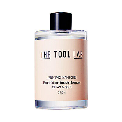 [THE TOOL LAB] Brush Cleanser - 320ml #Foundation Brush