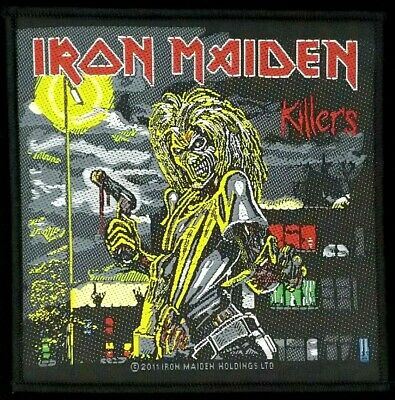 Iron Maiden - Killers Patch - metal band merch