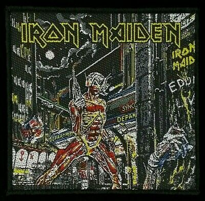 Iron Maiden - Somewhere In Time Patch - metal band merch