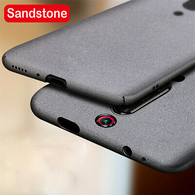 For Xiaomi Mi 9T Pro 9 SE 8 Lite Sandstone Matte Hard Slim Back Case Cover Skin