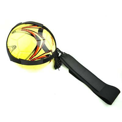 Football Soccer Trainer Sport Practice Skill Training Self Equipment Game Ball J