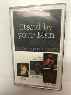 Stand By Your Man Country Love Songs Dolly Parton Audio Music Cassette Tape