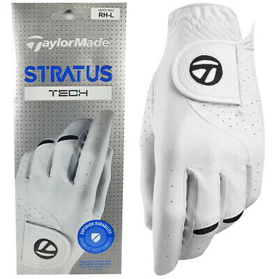 TaylorMade Stratus Tech Leather Golf Glove - Right Handed Golfer