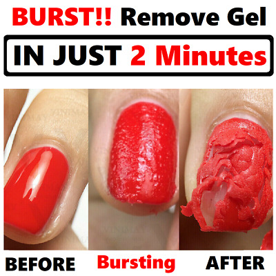 Magic Nail Gel  Remover Soak Off 2 MINUTES Acrylic Clean Degreaser UK Seller Pp