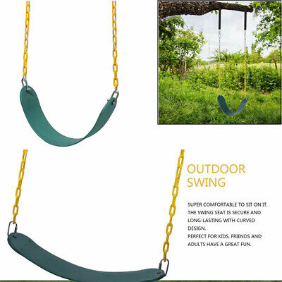 Heavy Duty Swing Seat Set With 2 Chains & Hook SWING  ACCESSORIES For Adult&Kids