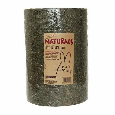 Rosewood Naturals Hay N Hide Large Small Animal Treat Toy