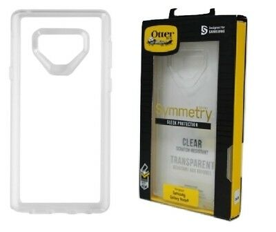 Original Otterbox Symmetry Series Protection Case Samsung Galaxy Note 9 -  Clear