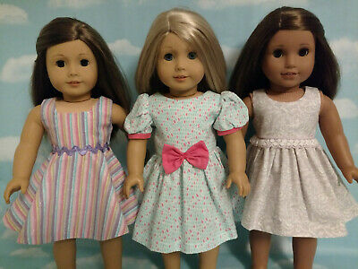 "18"" Doll Dress fits 18 inch American Girl Doll Clothes 58abc"