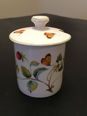 Vintage James Kent Old Foley Strawberry Jam Jar