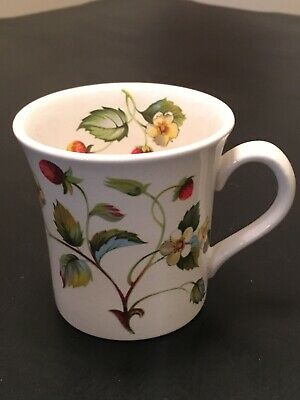 Vintage James Kent Old Foley Strawberry Mug