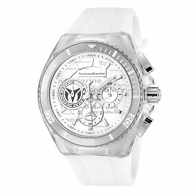 Technomarine TM-118120 Cruise Men's 46mm Chronograph Antique Silver Dial Watch