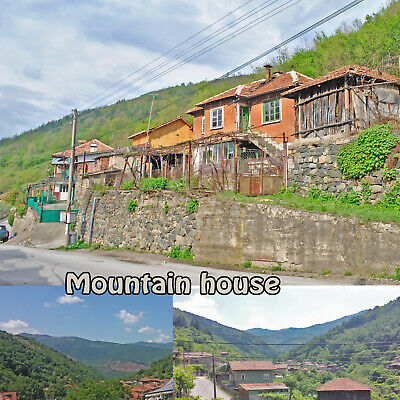 Mountain House Detached Villa Bulgarian property for sale Bulgaria EU FREEHOLD