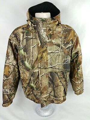 4cc7a4a1533ff Field & Stream Realtree Hooded Realtree Camouflage Hunting Jacket Size Small