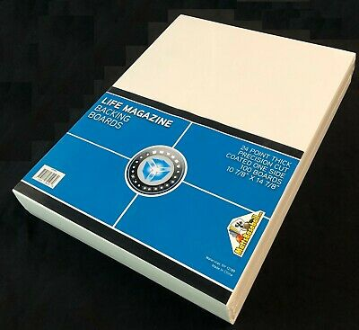 500 CSP Ultra Clear Life Magazine Bags and Boards Acid Free