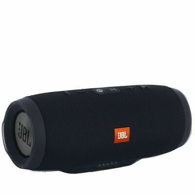 JBL Charge 3 Waterproof Portable Rechargeable Bluetooth Speaker - Black