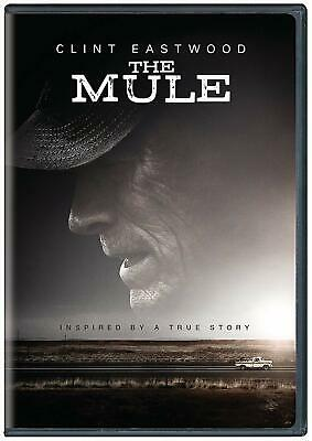 The Mule: DVD 2019  Free Shipping