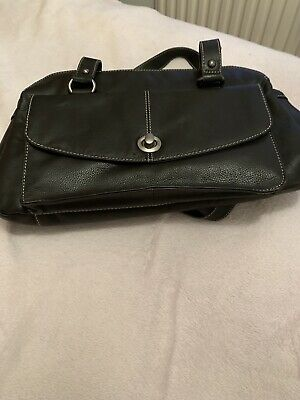Laura Ashley Brown Leather Handbag