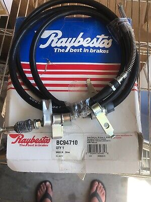 Parking Brake Cable-Element3 Rear Right Raybestos fits 80-83 Toyota Corolla