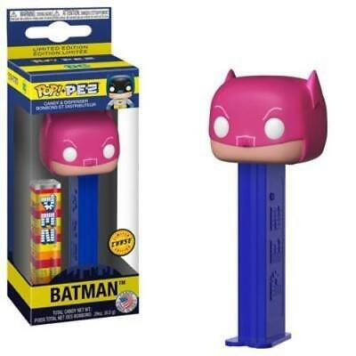 DC Funko POP! PEZ Batman Candy Dispenser Chase