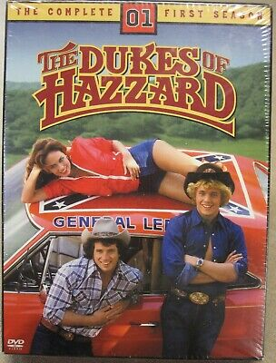 The Dukes of Hazzard - The Complete First Season (DVD, 2012, 5-Disc Set) Sealed